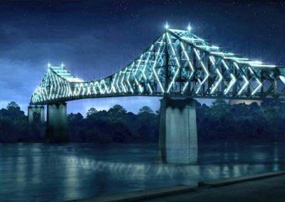 Highlighting the Jacques Cartier Bridge